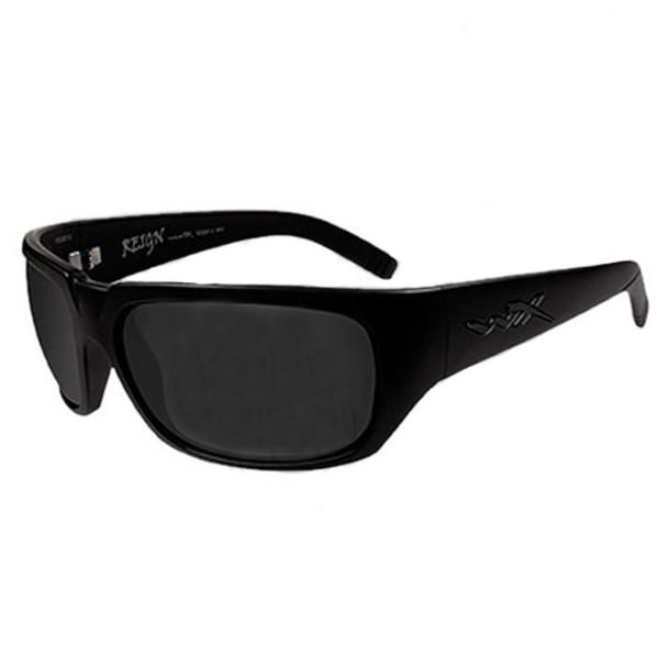 5407ec8303f Wiley X Reign SSRE102 Smoke Lens - Matte Black Frame