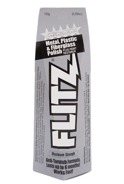 Flitz Metal, Plastic, & Fiberglass Polish Boxed Tube Paste