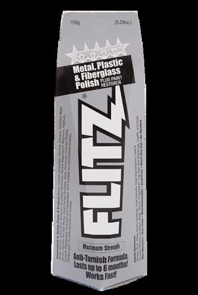 Flitz Metal, Plastic, & Fiberglass Polish Boxed Tube Paste