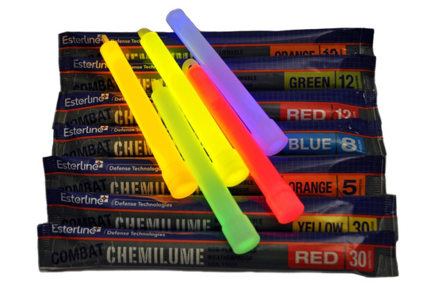 Esterline Chemlume Sticks 30 Pack - Expired 12/2013