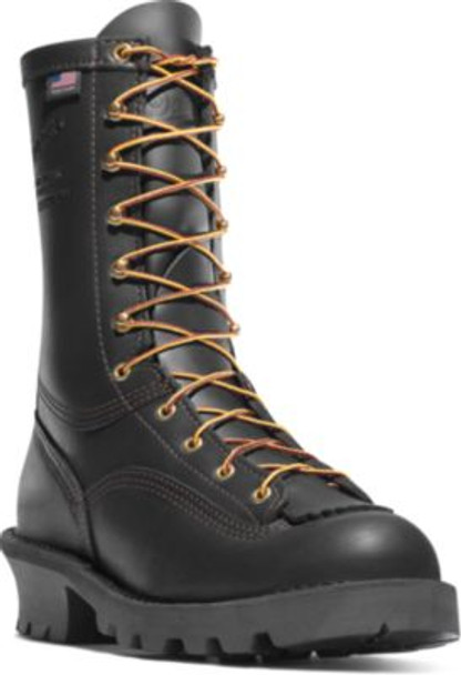 "Danner 18102 Men's/Women's Flashpoint II 10"" All Leather Black Boots"