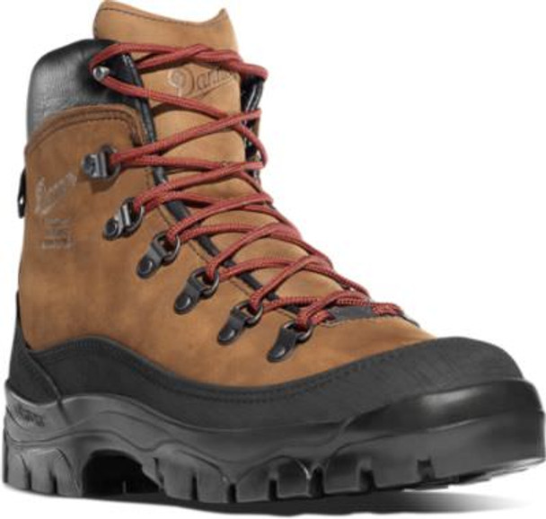 "Danner 37414 Women's Crater Rim 6"" Brown Boots"