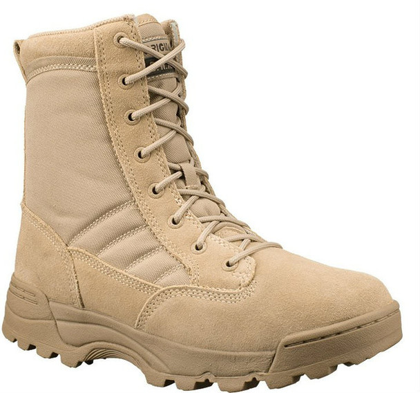 """Original SWAT 115002 Classic 9"""" Men's Tan Boots"""