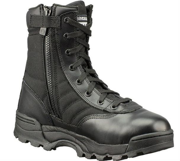 """Original SWAT 115201 Classic 9"""" Side-Zip Men's Black Boots"""