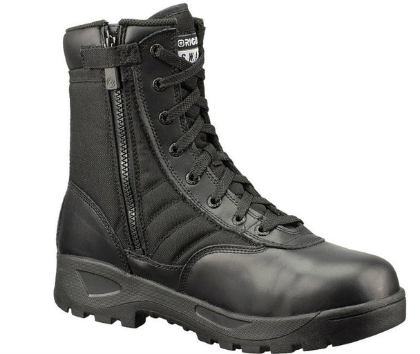 "Original SWAT 116001 Classic 9"" SZ Safety Plus Men's Black Boots"