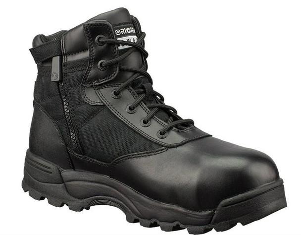"""Original SWAT 116101 Classic 6"""" WP SZ Safety Men's Black Boots"""