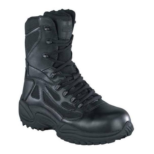 "Reebok RB888 Women's 8"" Rapid Response SZ Boots, Black"
