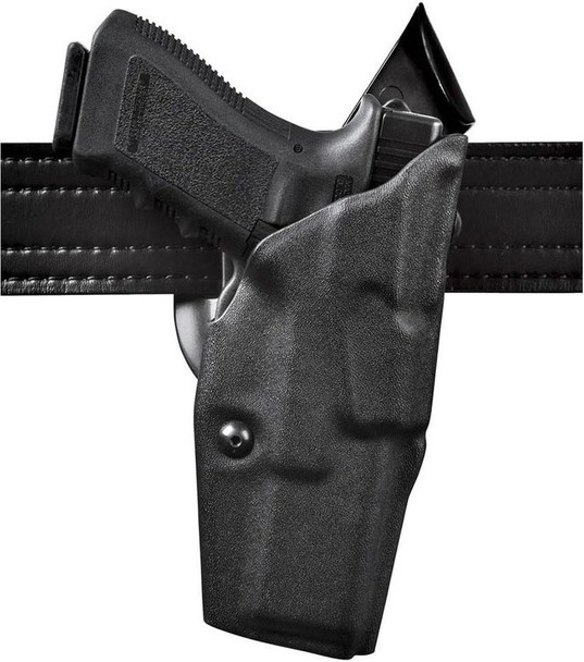 Safariland 6390 ALS Mid Ride Level I Holsters for H&K P2000 - Right Hand - Black - STX Plain
