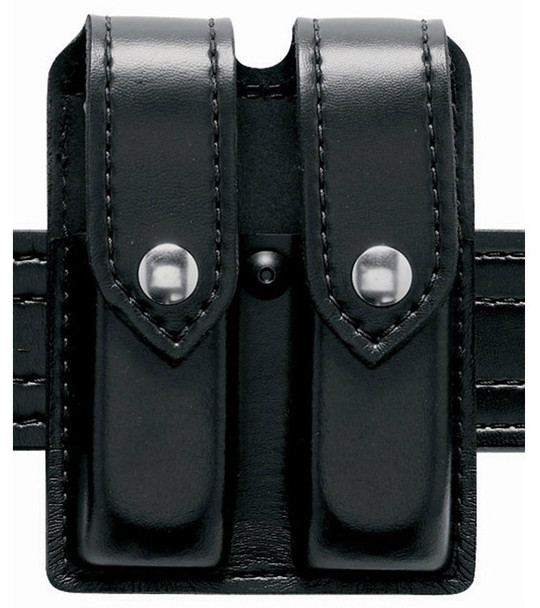 Safariland Double Pistol Magazine Pouch w/Flap for Glock 17 - STX