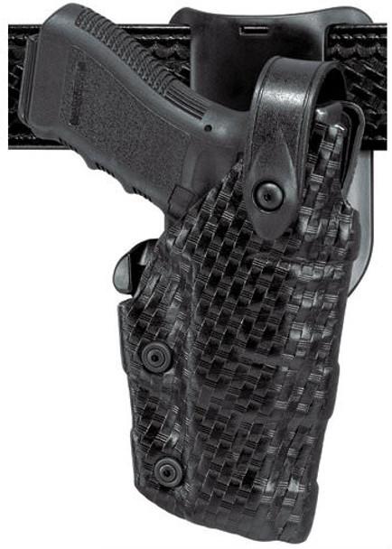 Safariland 6075 Raptor Level IV Low-Ride UBL Holster for Sig Sauer P220R/P220S/P226R/P226S/P226SO - Right Hand - Black - STX Tac