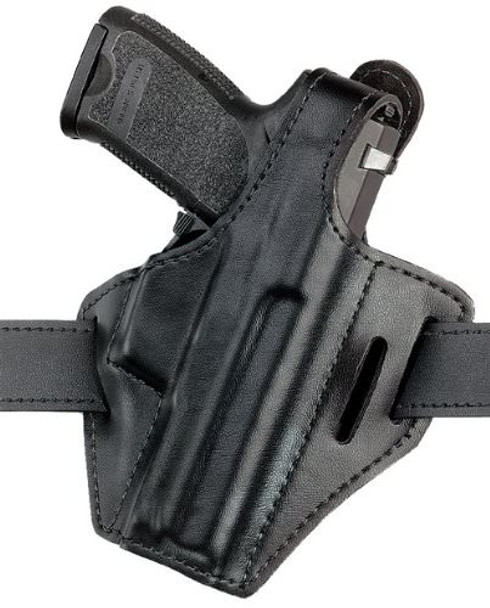Safariland 328 Pancake Style Belt Holster for Glock 29/30 - Right Hand - Black - Plain