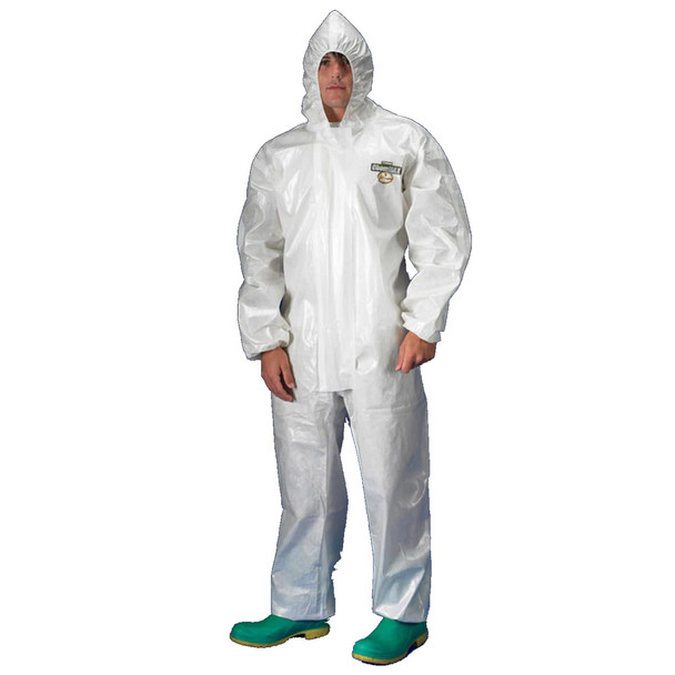 Lakeland Chemical Resistant Tychem SL Cover with Hood Zipper