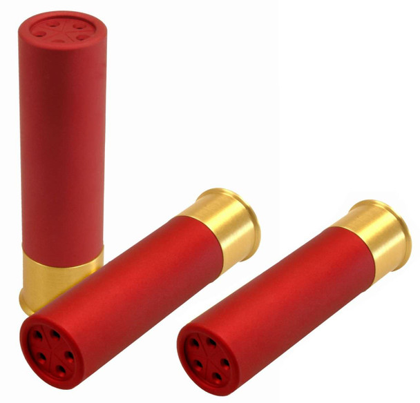 GG&G 1335 Shotgun Shell Salt & Pepper Shaker Set & Toothpick Holder