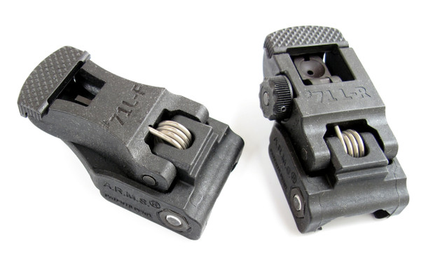 ARMS 71L-F & 71L-R Flip-Up Sight Set