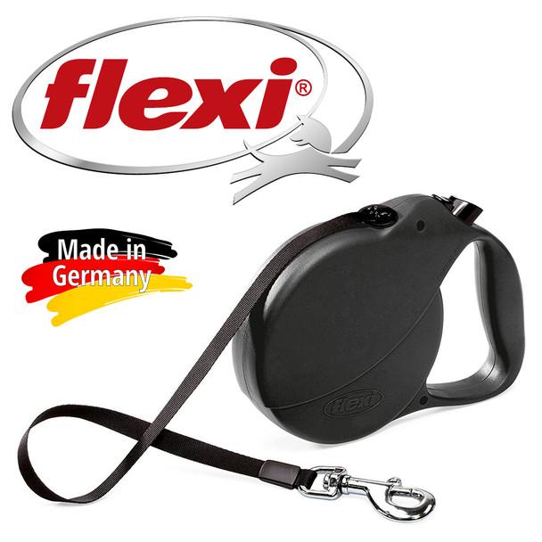 Flexi C38 Explore Tape Retractable Dog Leash  26 Feet / Up To 110 lbs.