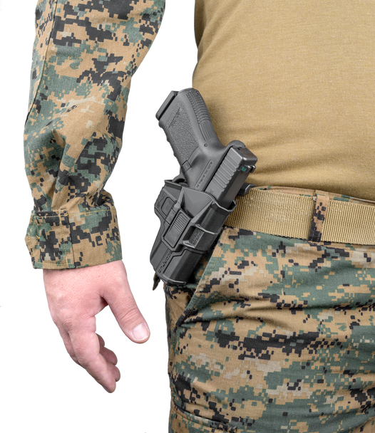 FAB Defense SCORPUS Level 2 Holster & Double Magazine Pouch