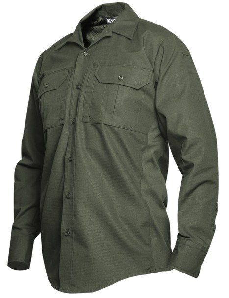 Vertx VTX8120OD Phantom LT Long Sleeve Shirt, OD Green