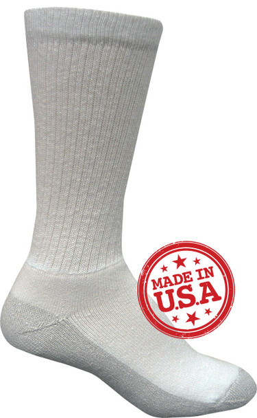 Magnum 1207 DC-2 Crew Socks 3/Pack WHITE