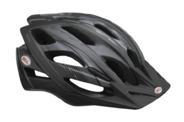 Bell Sports Slant Helmet, Matte Black Charcoal, Universal
