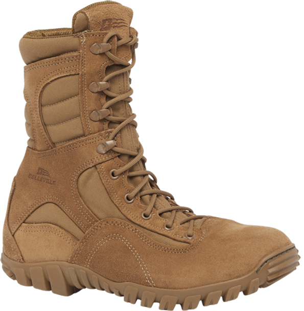 Belleville SABRE 533 ST Hot Weather Hybrid Steel Toe Assault Boots, Coyote