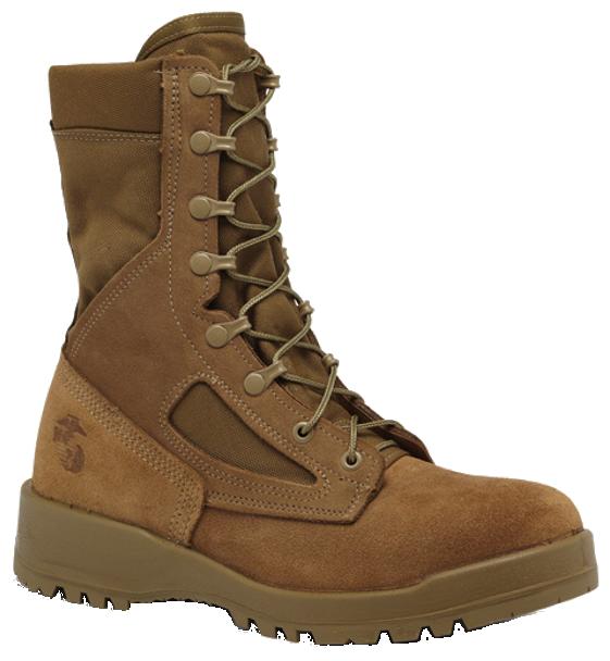 Belleville 590 USMC Hot Weather Combat Boots (EGA), Coyote