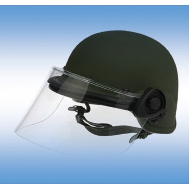 Paulson DK5-H.150HM Military Police Riot Face Shield .150 Thick