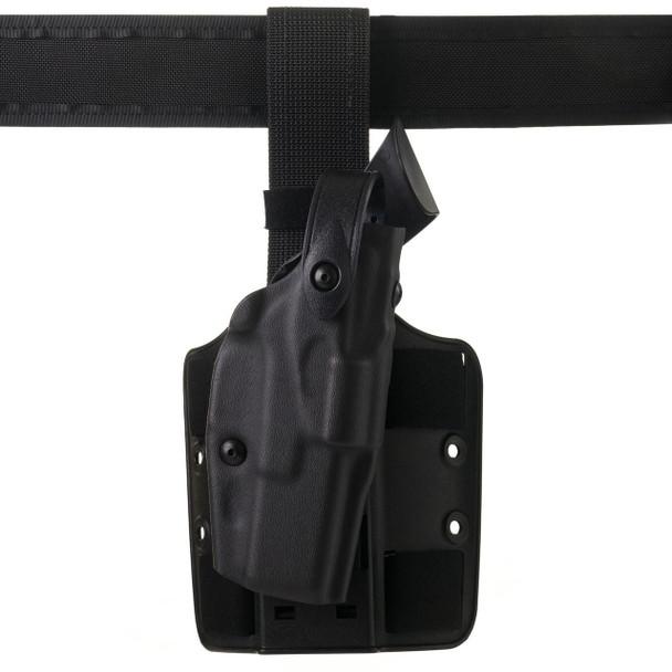 "Safariland ALS Drop-Rig Tactical Holster For Glock 4.6"" - Left Hand - Black - STX Tactical Finish"