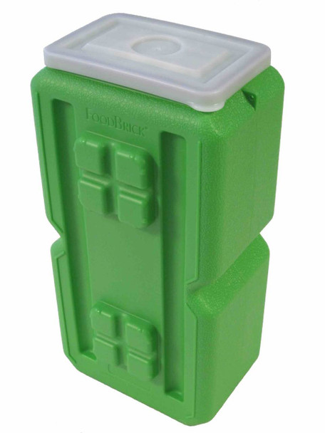 WaterBrick Food Brick Standard 3.5 Gallon Container 8/Pack