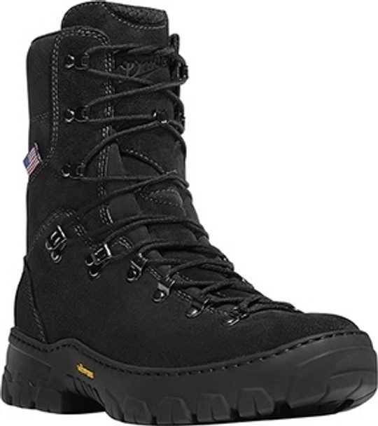 "Danner 18050 Men's Wildland Tactical Firefighters 8"" Black Boots"