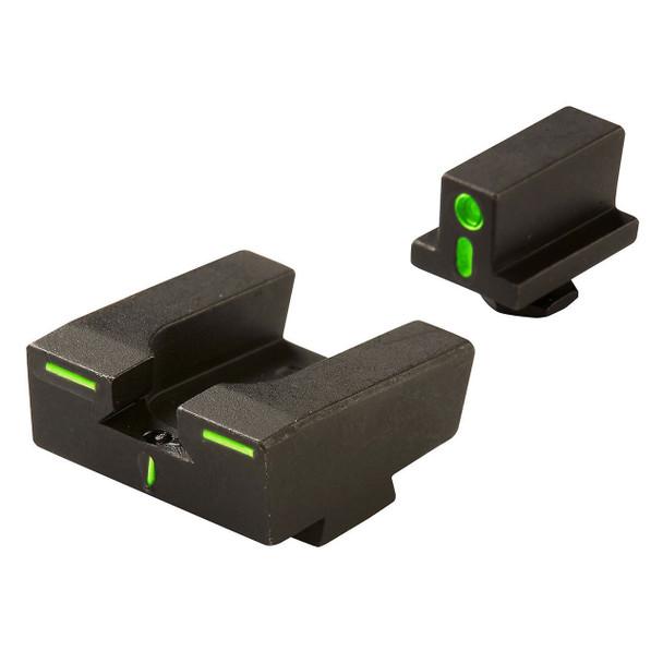 Mepro R4E Tritium Crosshair Night Sights Glock Full Size Pistols