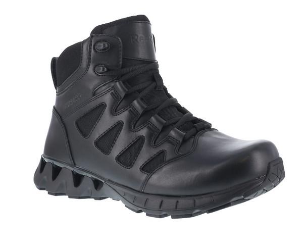 """Reebok RB8630 Men's ZigKick 6"""" Waterproof Side Zip Tactical Boots"""