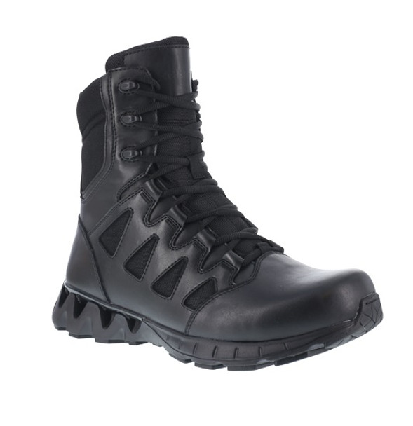 """Reebok RB8845 Men's ZigKick 8"""" Side Zip Tactical Boots"""