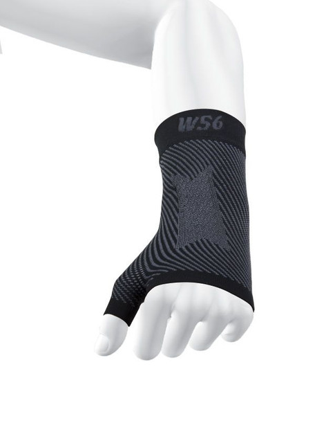 OS1st WS6 Sports Wrist Compression Black Sleeve