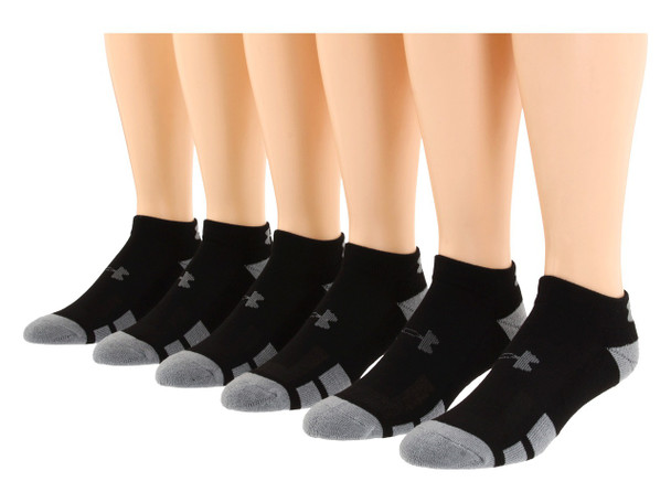 Under Armour UA3609 Resistor Low Cut 6-Pack Socks