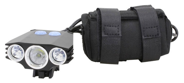 Serfas TSL-LE Police Headlight RED/WHITE/BLUE LED's