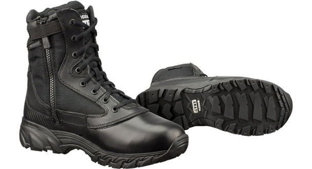 "Original SWAT 139601 Chase Waterproof Side Zip 9"" Black Boots"