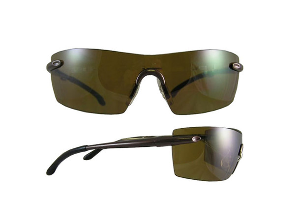 S&W Caliber Anti-Fog Brown Safety Glasses