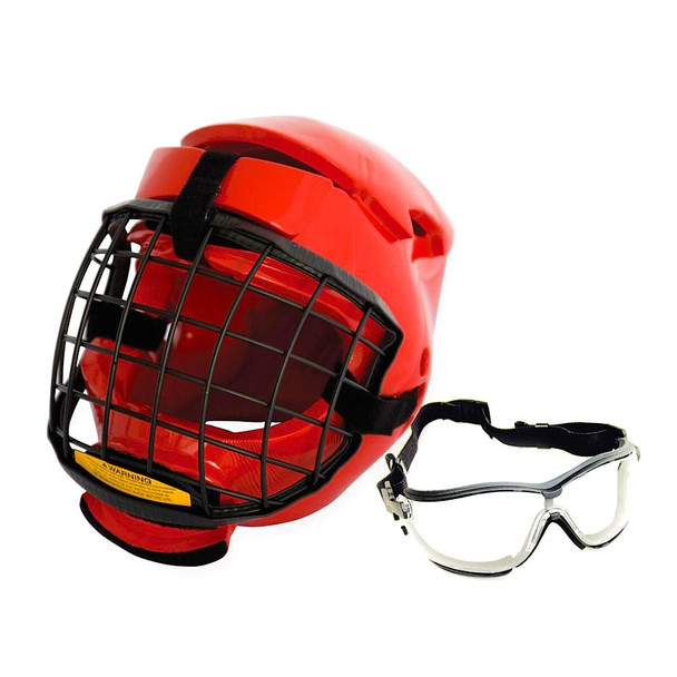 Redman XP Head, Cage & Safety Glasses