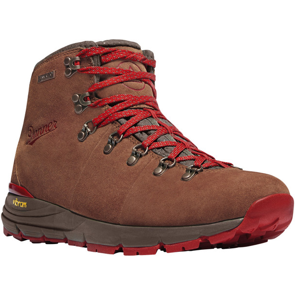 "Danner 62241 Mountain 600 4.5"" Boots, Brown/Red"