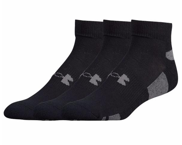 Under Armour Men's HeatGear Low Cut 3-Pack Socks
