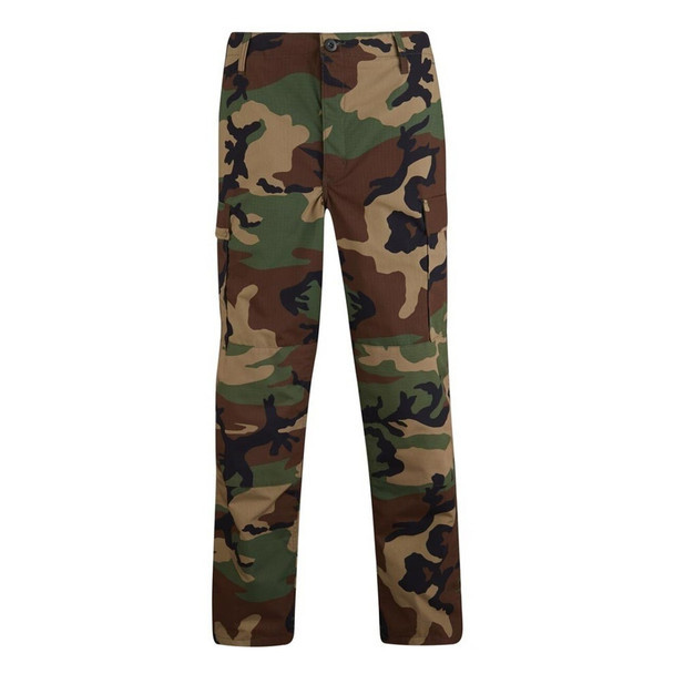 Propper 9500 BDU 65/35 Poly/Cotton Button Fly Trousers Woodland Camo