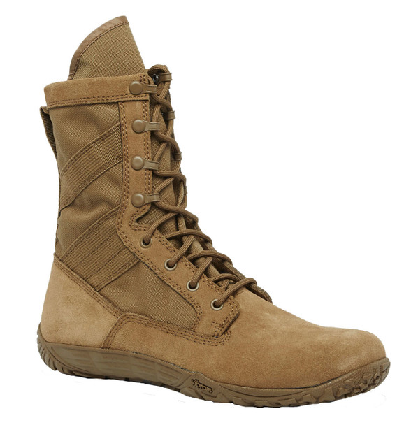 "Belleville TR105 8"" Minimalist Training Coyote Boots"