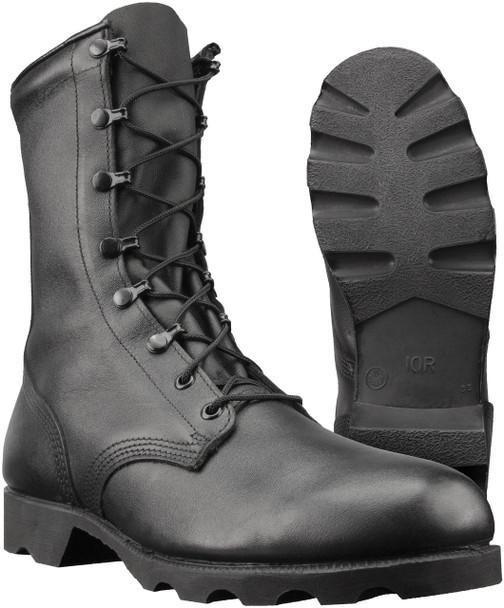 """Altama 515701 Men's Leather Combat 10"""" Boots, Black"""