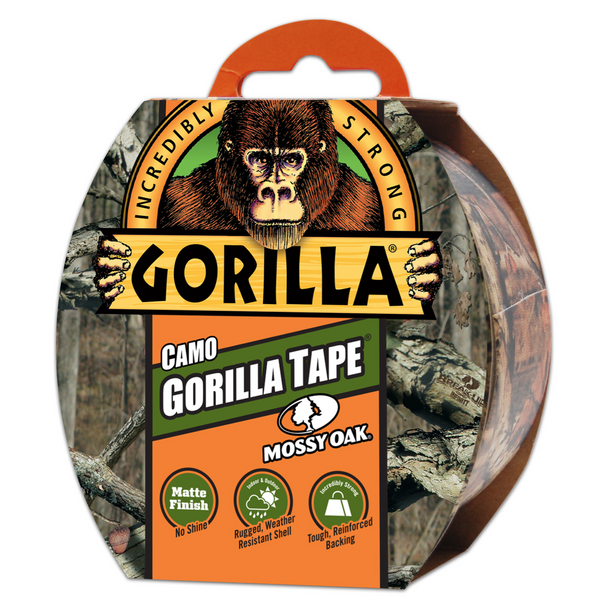 "Gorilla Duct Tape 1.88"" x 9 Yard 2/Pack CAMO"
