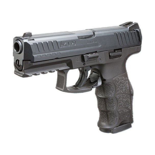 HK VP9 9mm LE Pistol 3/15rd Mags & Night Sights