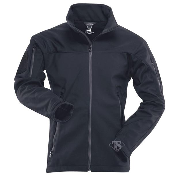 Tru-Spec 2454 24-7 Series Tactical Softshell Jacket, Black