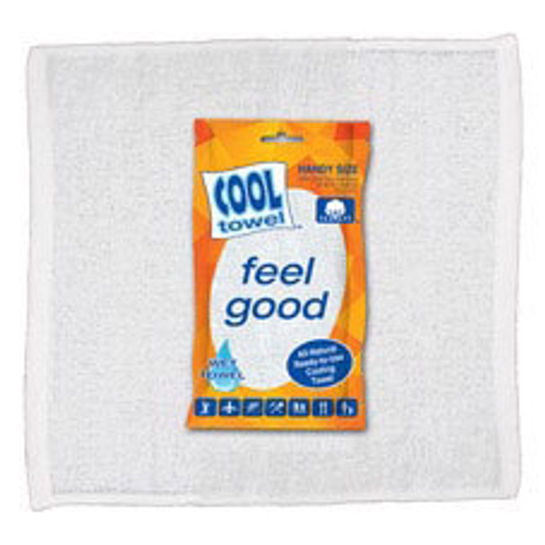Cool Towel 100 Cotton Hygenic Ready To Use Cooling Towels 12 Pack