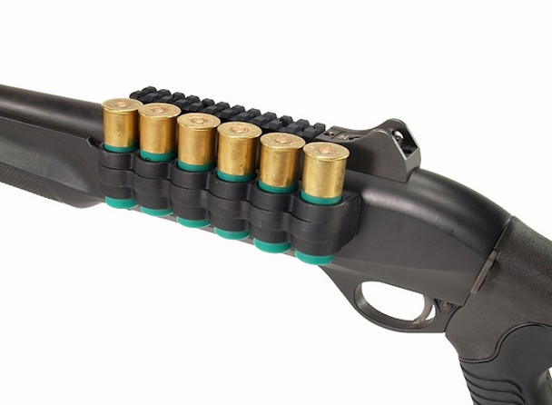 Mesa Tactical SureShell Polymer Carrier & Rail For Benelli M2 Shotguns