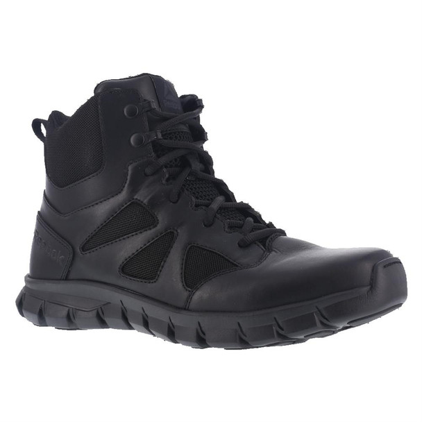 "Reebok RB8605 Men's Sublite Cushion 6"" Side Zip Tactical Boot"