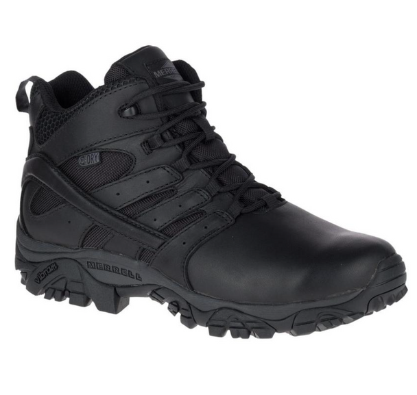 Merrell MOAB 2 Mid Tactical Response Black Waterproof Boots